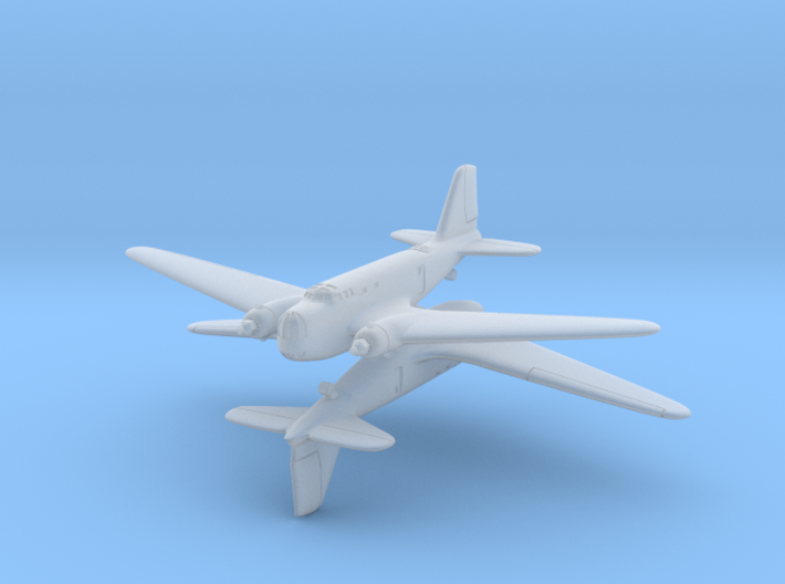Douglas B-18 Bolo Original 1/600 (x2) 3d printed