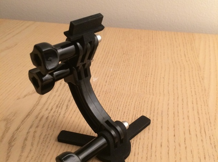 Bandai DX adapter (Axis B) to GoPro mount 3d printed