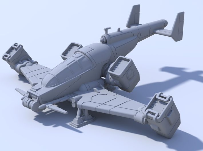 Stormchaser - 110mm For WSF 3d printed
