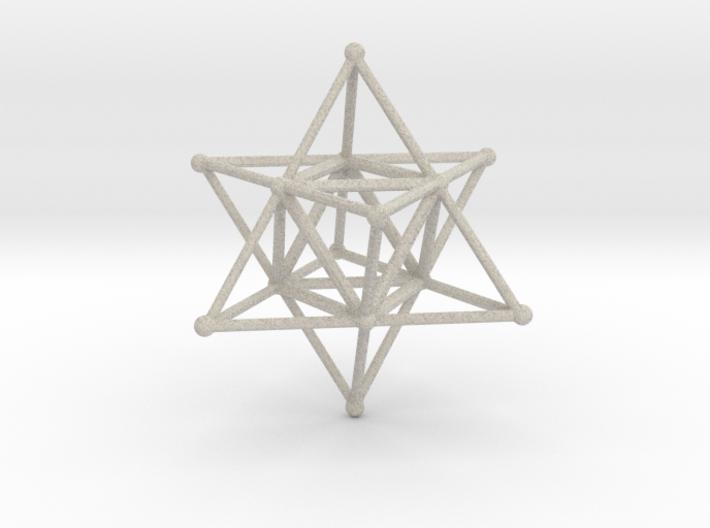 MERKABAH (figurine) 3d printed
