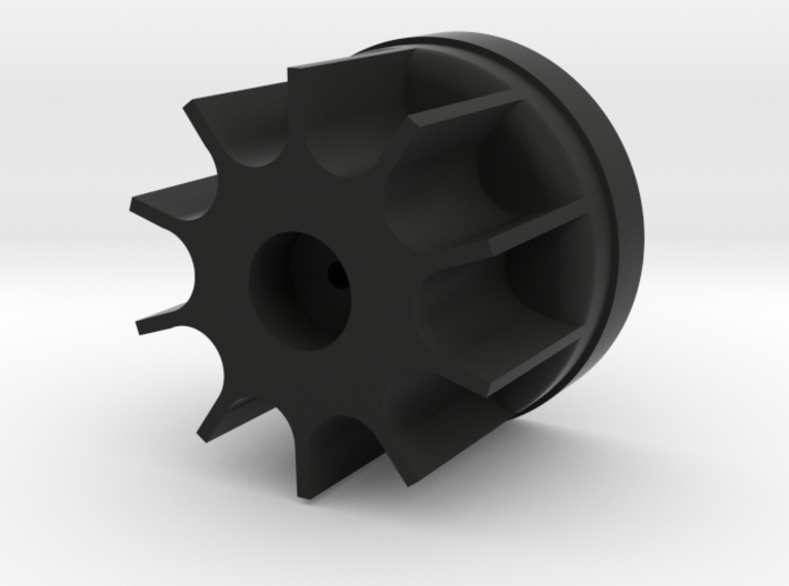 Bruder Delta Loader: Wheel hub 3d printed
