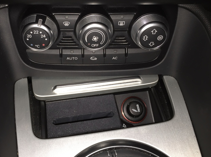 Audi TT CarPlay dock for iPhone 6/6s/7/8 3d printed CarPlay dock for Audi TT with no  iPhone