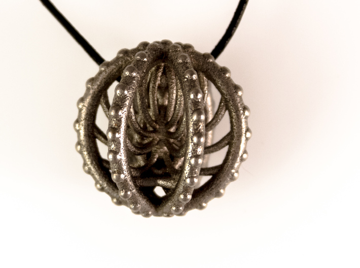 Meditation Energy Pendant 3d printed