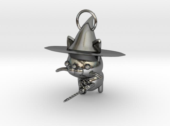 Magician of black cat 3d printed