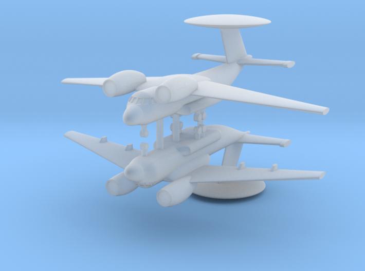 1/700 Antonov An-71 MADCAP (x2) 3d printed