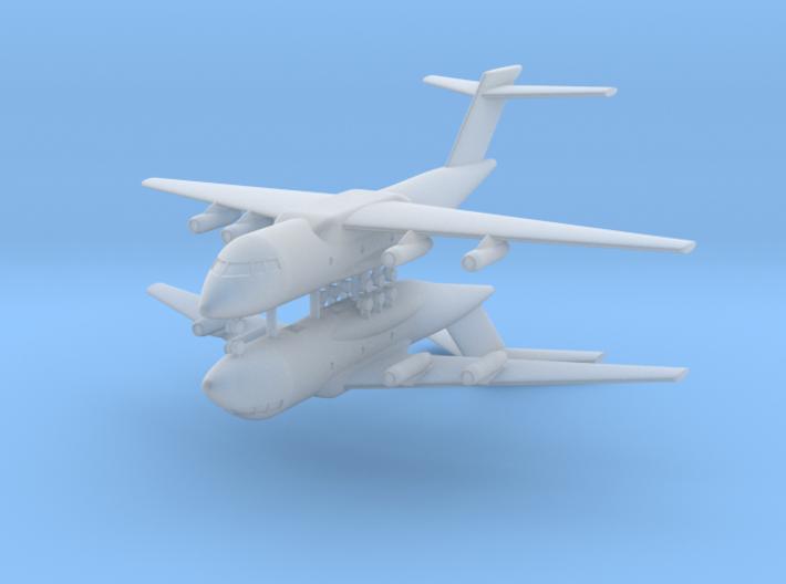 1/700 Xian Y-20 (x2) 3d printed