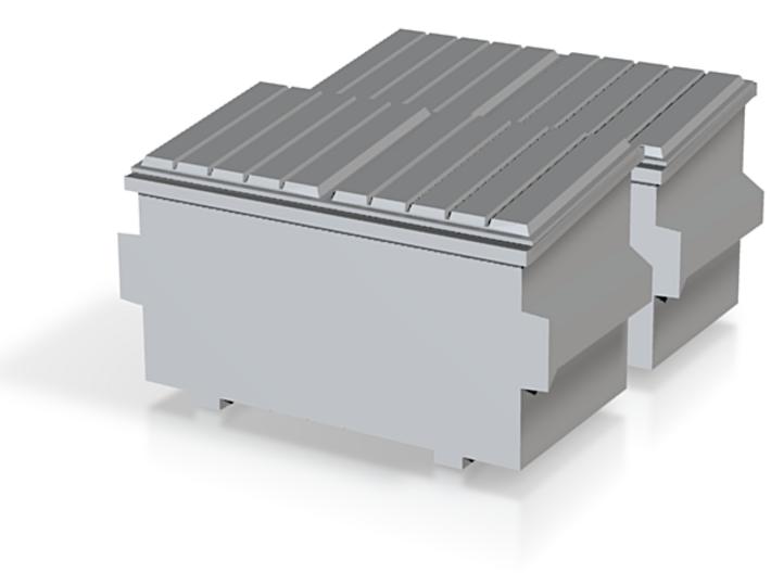 2 N-scaleDumpsters 3d printed