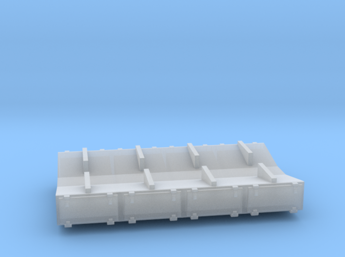 PRR 3 ton Ice Bunker/Sump (1/160) 3d printed