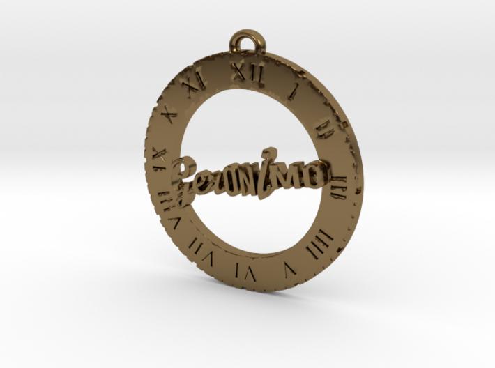 Geronimo - Pendant 3d printed