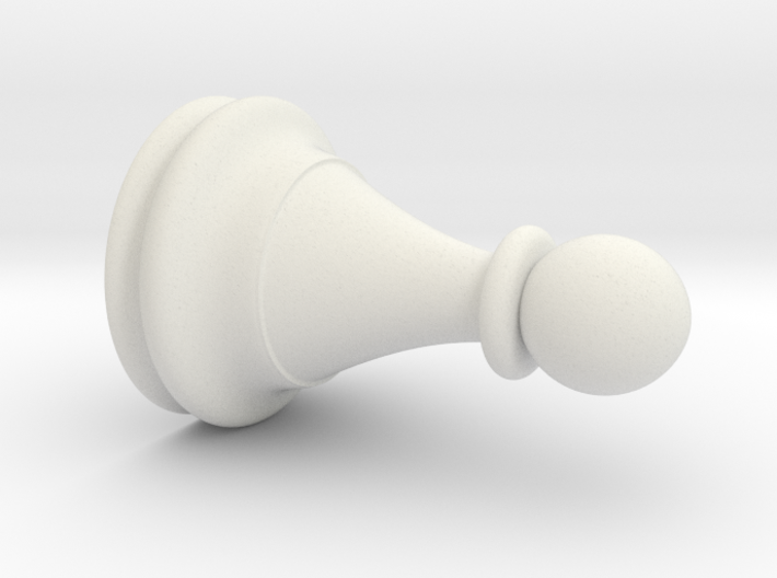 "Replacement Chess Pawn 1.3""hx0.9""d 3d printed"