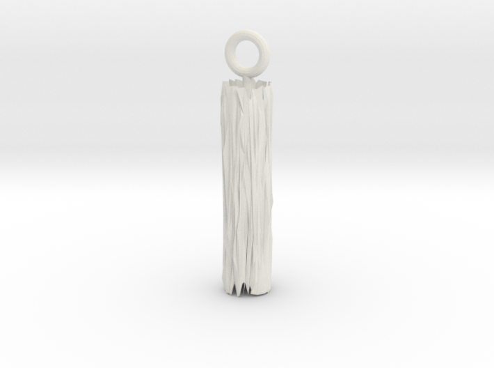 Edge Pendant 3d printed