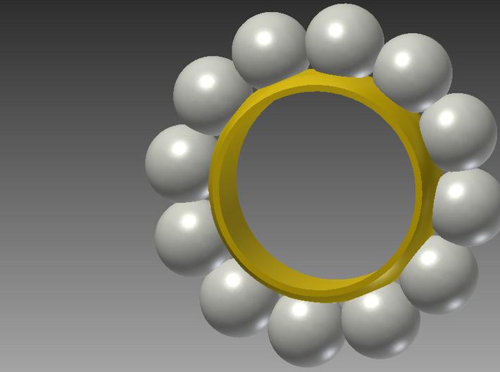 Ring Of Orbs Twelve-Fold 3d printed