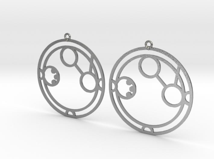 Amanda - Earrings - Series 1 3d printed