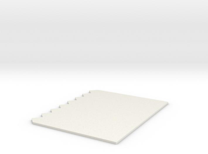 Tricomb 3d printed