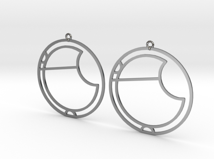 Ava - Earrings - Series 1 3d printed
