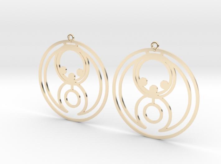 Bella - Earrings - Series 1 3d printed