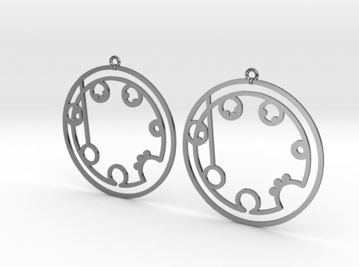 Brooklyn - Earrings - Series 1 3d printed