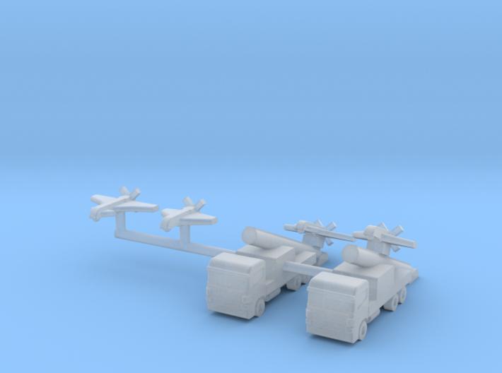 1/700 SAGEM Sperwer / Sperwer B UAV (x4) 3d printed