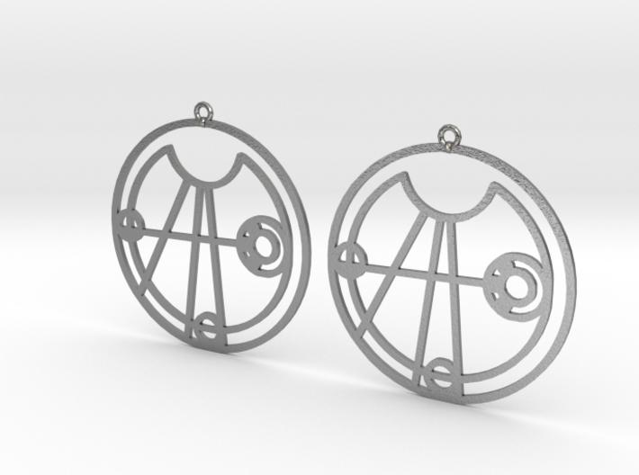 Elise - Earrings - Series 1 3d printed