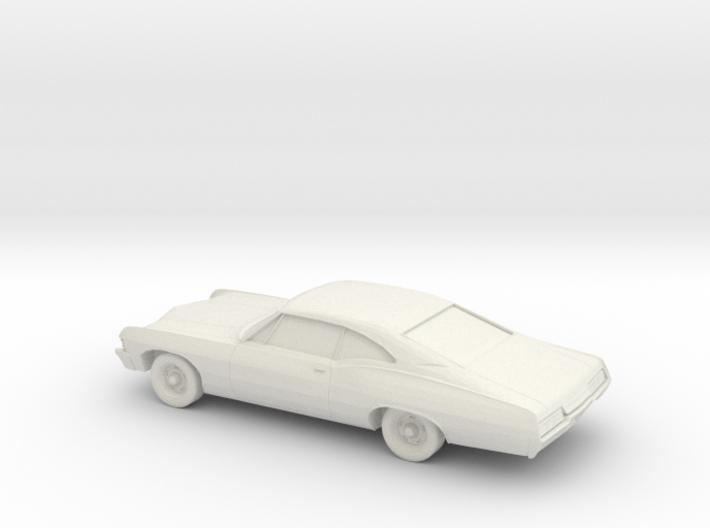 1/87 1967 Chevrolet Impala 3d printed