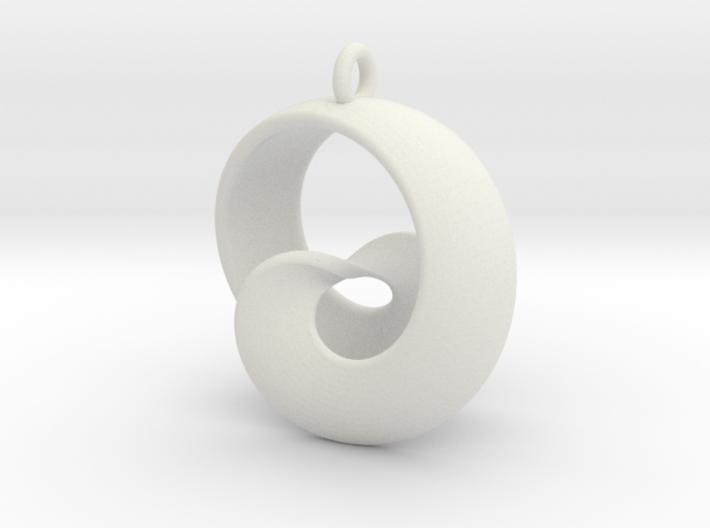 Half Mob-Tor: the half Mobius Torus Shell 3d printed