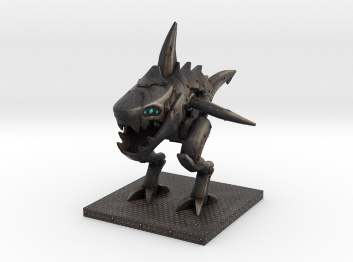 Sharkmech (normal size) 3d printed