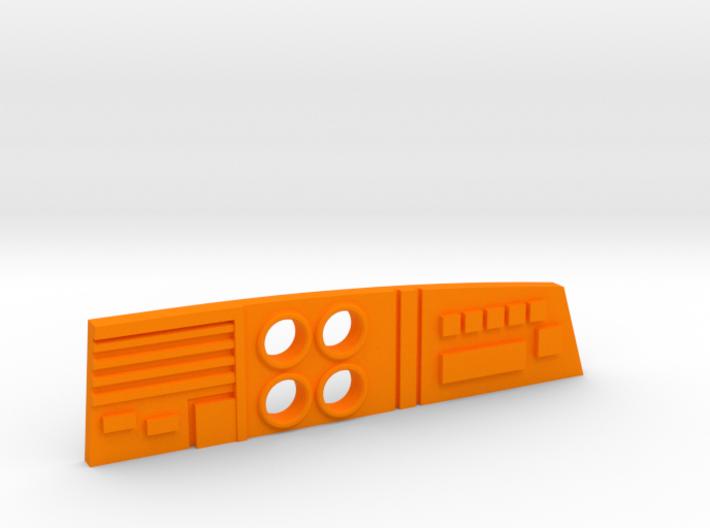 M.A.S.K. Gator Speedboat Dashboard 3d printed
