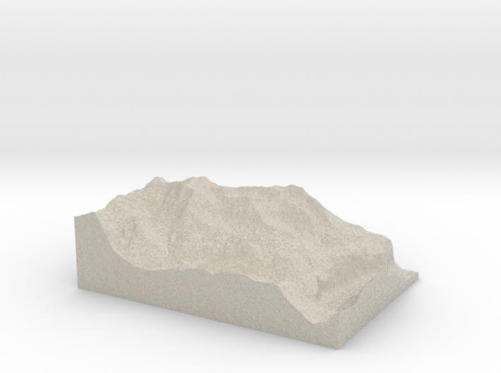 Model of Chlyni Nadla 3d printed