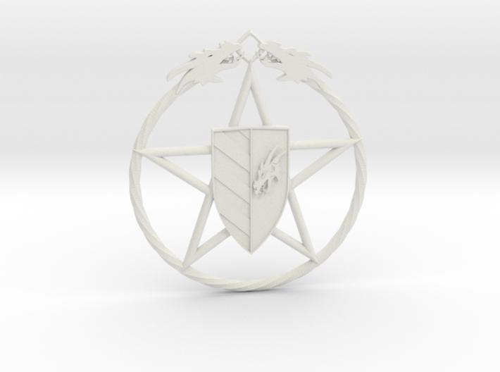 Dros Rock Magier Amulett 3d printed