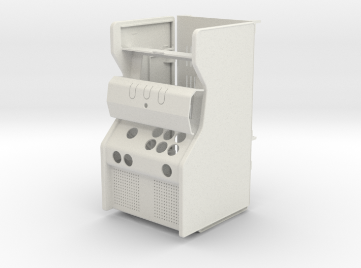 Micro arcade cabinet 3d printed