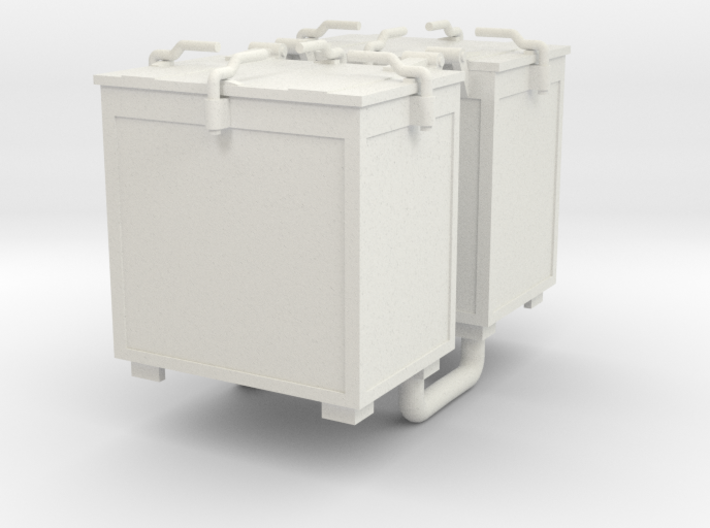 Oerlikon 20mm Ammunition Locker x 2. 1/35 Scale 3d printed