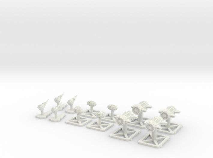 Token Set 3d printed