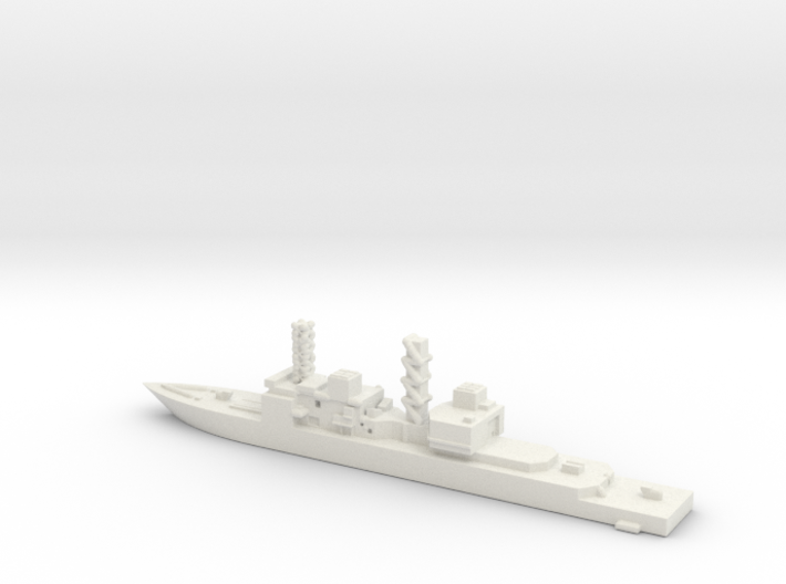 United States, Spruance class. 3d printed