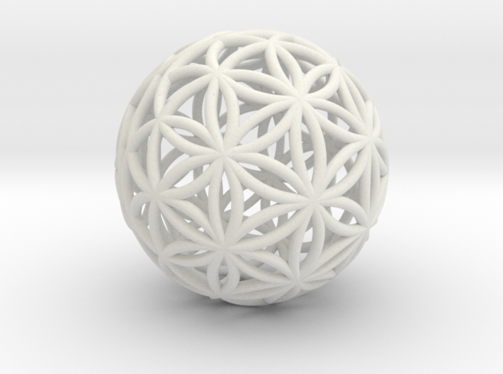 3D 25mm Orb Of Life (3D Flower of Life) 3d printed