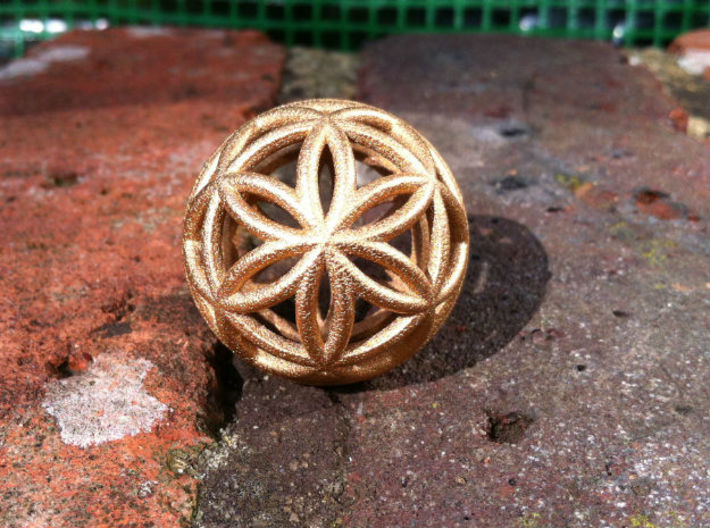 3D 33mm Orb of Life (3D Seed of Life) 3d printed