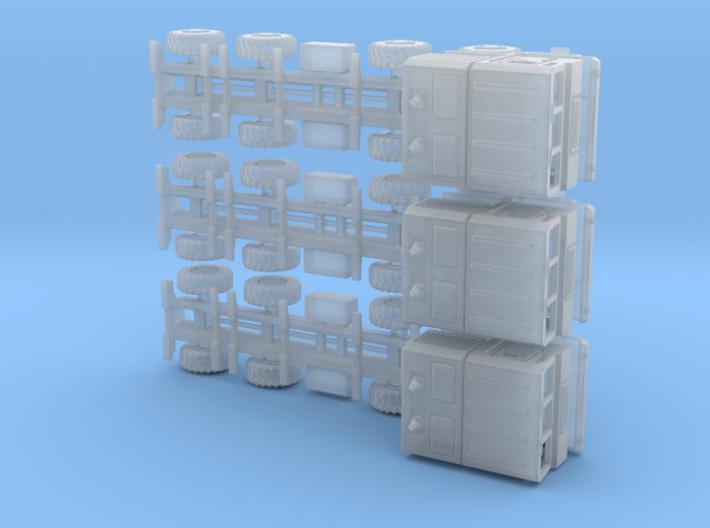 N Gauge 1:160 3x Mzkt Fahrgestell Kabine МЗКТ 3d printed