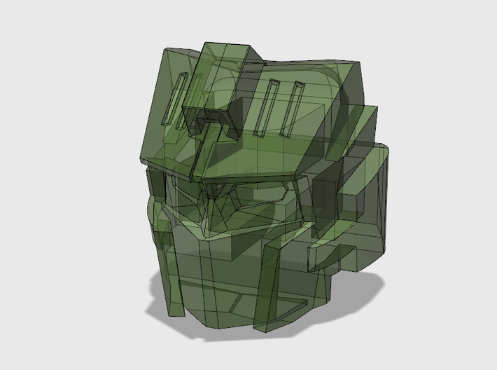 "Mechanic Head ""Commander Version"" 3d printed 3D Rendered Model"