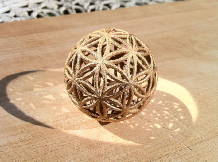 3D 88mm Orb of Life (3D Flower of Life) 3d printed