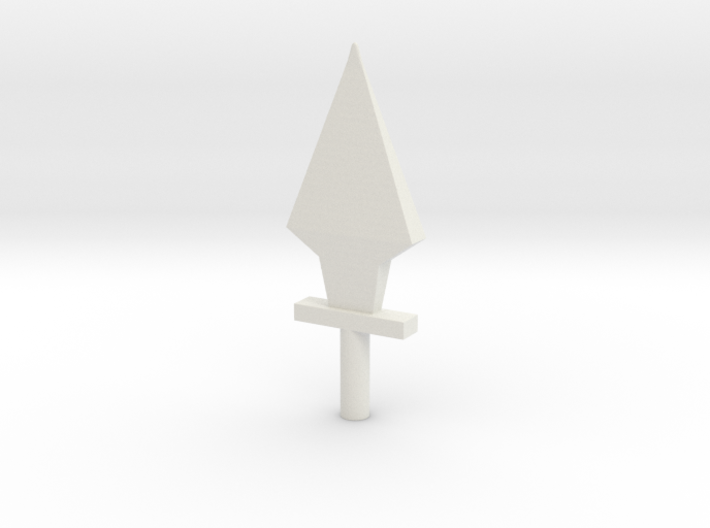 5mm Dagger 3d printed