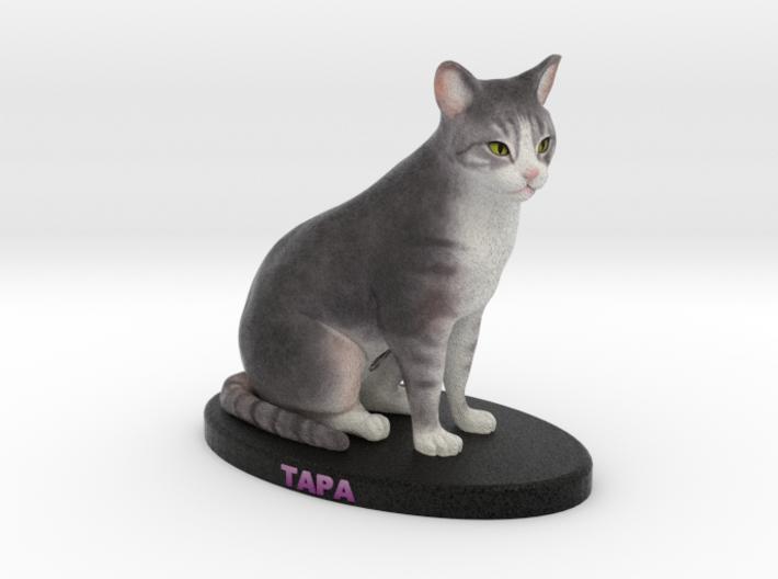 Custom Cat Figurine - Tapa 3d printed