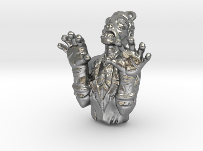 Zombie Charm 3d printed