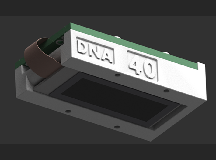 DNA 40 CHIP MOUNT LARGE SCREEN V1 3d printed