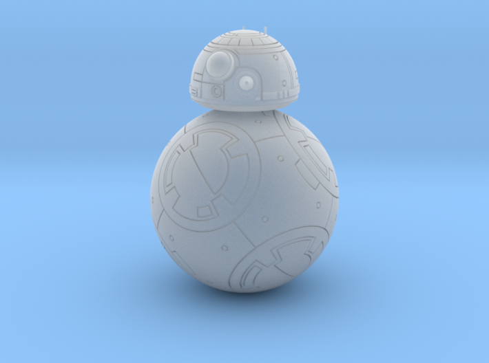 BB-8 ROLLER DROID highly detailed 1/20 3d printed