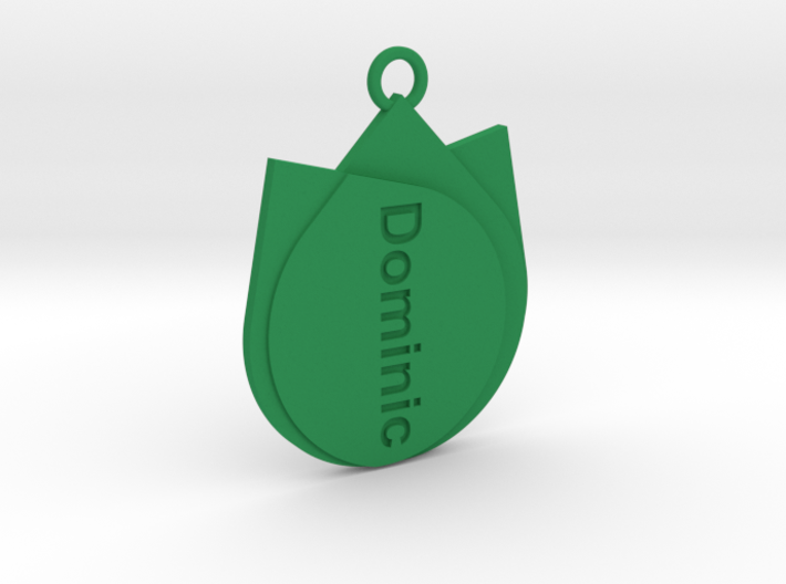 Keychain for Dominic 3d printed