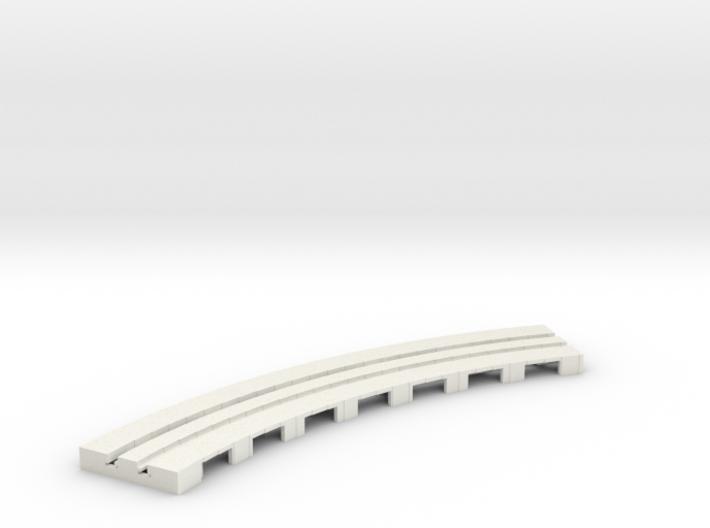 P-65stp-curve-tram-long-145r-100-pl-1a 3d printed