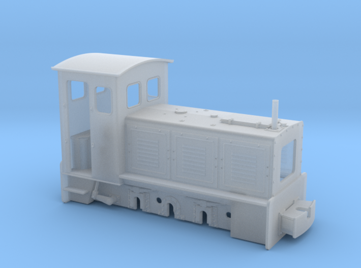 Feldbahnlok LKM Ns3f Spur 1e/1f 1:32 Variante1 3d printed