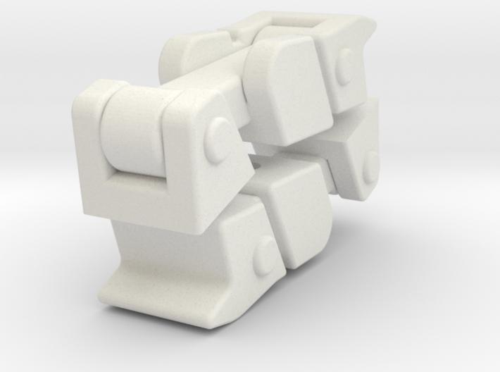 Haubenverschlüsse Jeep JK Axial SCX10 3d printed
