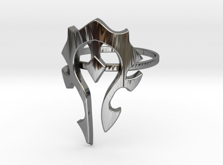 Make your own awesome Ring (Any Size, any Design) 3d printed
