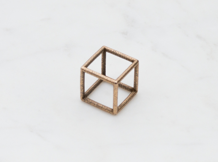 Cube Ring - Size 4 to Size 7 3d printed
