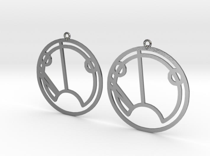 Sue - Earrings - Series 1 3d printed